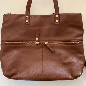 Aspen genuine leather shoulder bag